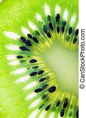 Rebanada de kiwi