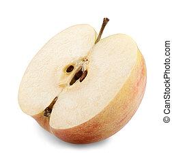 Rebanada de manzana