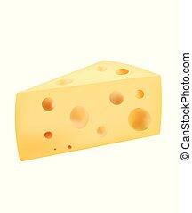 Rebanada de queso
