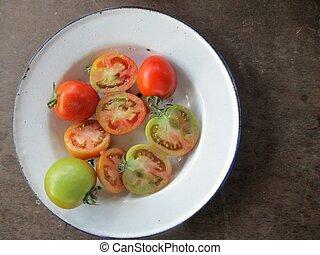 Rebanada de tomate