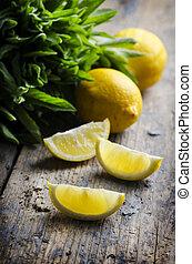 Rebanadas de limón