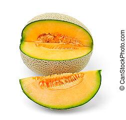 Rebanadas de melón de melón