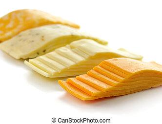 Rebanadas de queso
