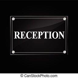 recepción, señal