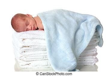 Recién nacido dormido