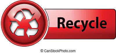 Recicla el botón de icono.
