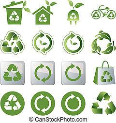 Reciclar iconos