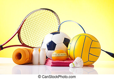 recreación, deportes, equipo de ocio