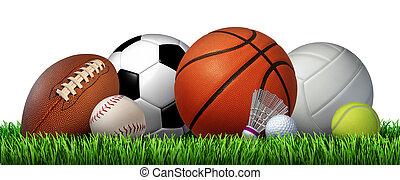 recreación, deportes, ocio