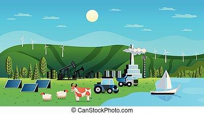 Recursos ambientales naturales