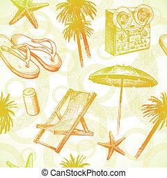 Recursos tropicales de la playa