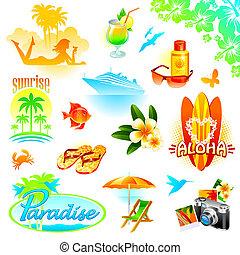 Recursos tropicales, viajes y vacaciones exóticas
