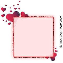 Red Amaranth, corazón redondeado
