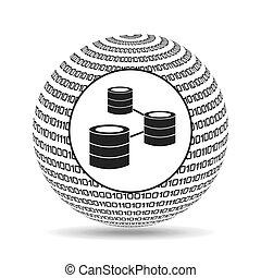 Red de datos binarios del Globe