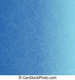 red, plano de fondo, azul