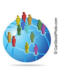 Red social global