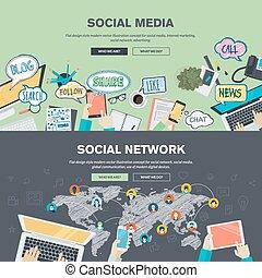 redes sociales y redes sociales