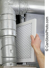 Reemplace el filtro de aire casero
