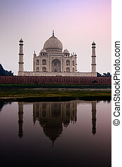 Reflejo Taj Mahal