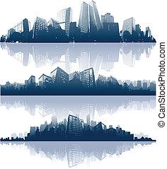 Reflejos de la ciudad