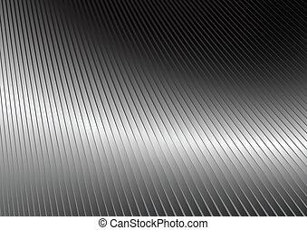 reflexivo, plata, superficie