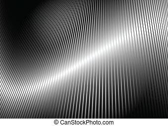 reflexivo, vector, brillante, superficie
