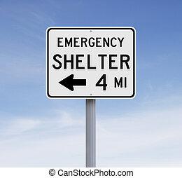 refugio, emergencia