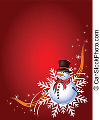 regalo de navidad, página