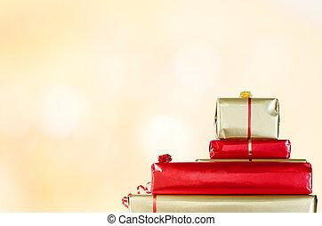 Regalos de Navidad en Bokeh