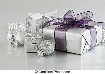 Regalos de Navidad en plata