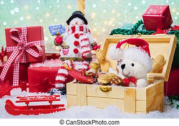 regalos, desembalar