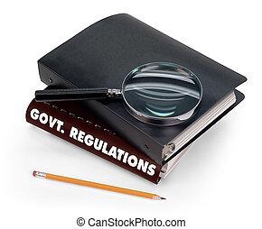 regulaciones, gobierno