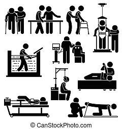 Rehabilitación de fisioterapia