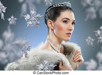 reina, nieve