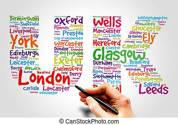 Reino Unido, concepto de viaje