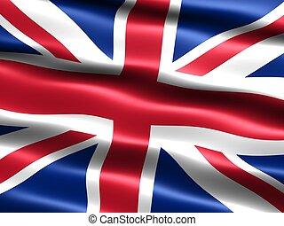 reino, unido, flag: