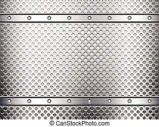 Rejilla de metal