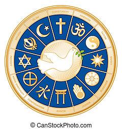Reliquias del mundo, paloma de la paz