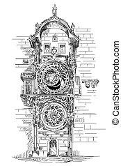 Reloj astronómico en Praga
