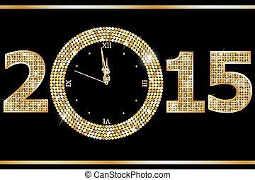 Reloj de año nuevo
