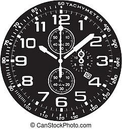 Reloj de reloj