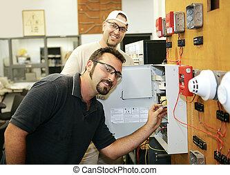 Reparación de la alarma de incendios