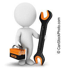 Reparador de blancos 3D