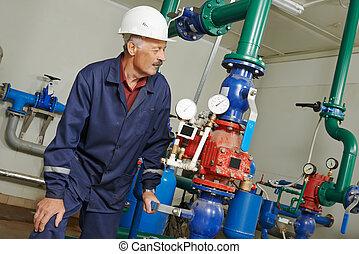 Reparador de ingenieros en calderas