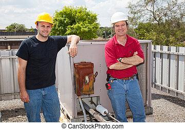 Reparadores de aire acondicionado
