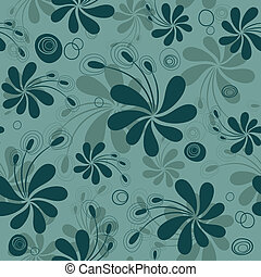 Repitiendo el patrón floral