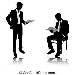Reporte de lectura de empresarios