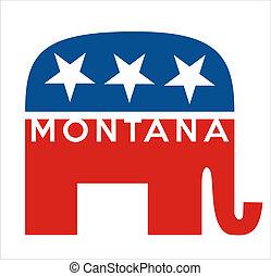 republicanos, montana