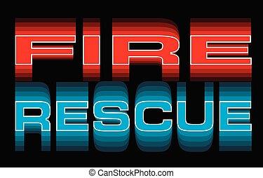 Rescate de fuego