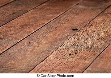 resistido, granero, rústico, madera, plano de fondo